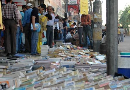 Sunday Book Market Daryaganj Delhi